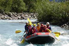 rafting a les deux alpes