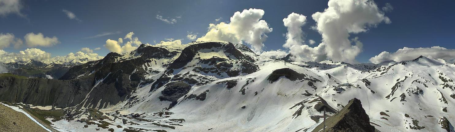 Webcam Les 2 Alpes - glacier