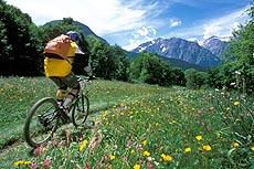 mountainbike e attività sportive a les deux alpes