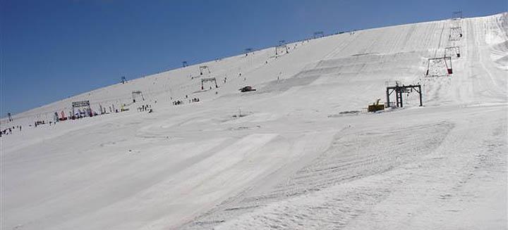 piste sul ghiacciaio