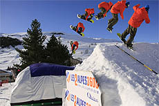 big air bag les deux alpes