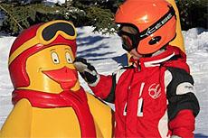 parco giochi per bambini a les deux alpes