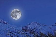 serate al chiaro di luna les deux alpes