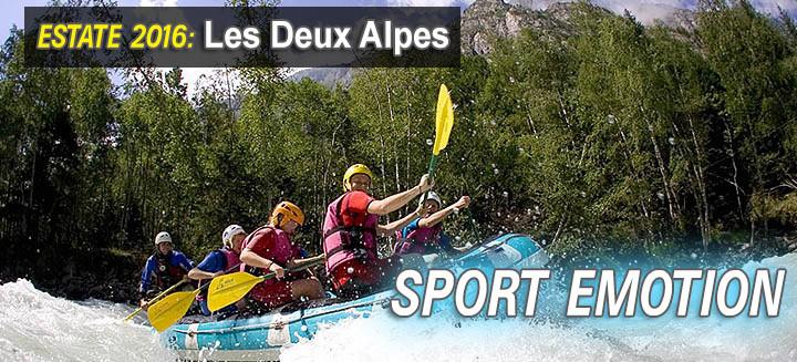 les deux alpes attivita sportive