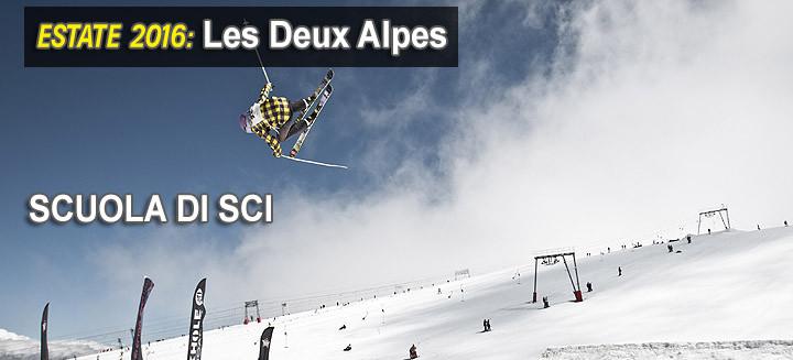 les deux alpes scuola di snowboard
